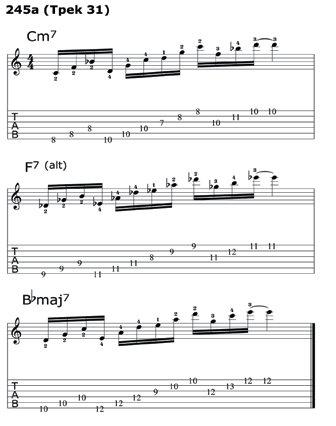 всех трех аккордов схемы